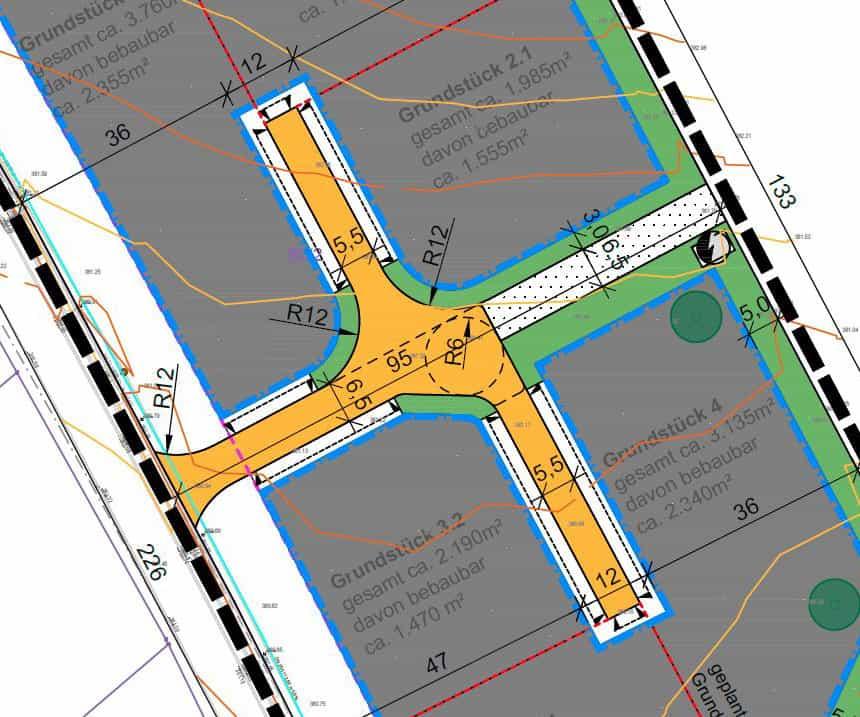 Strassenbebauungsplan