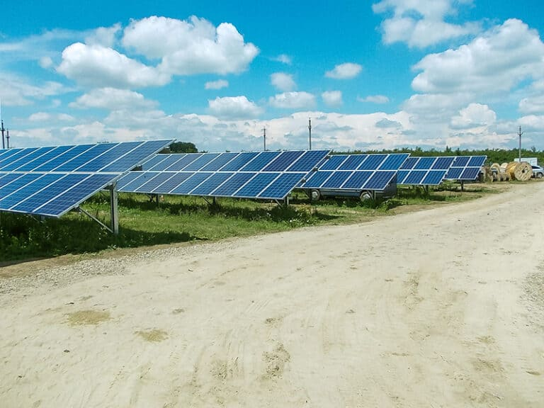Photovoltaikanlage Tartasesti Rumänien