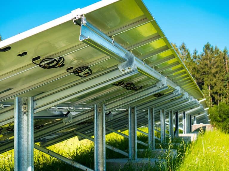 Photovoltaikanlage Deponie Schachenwald
