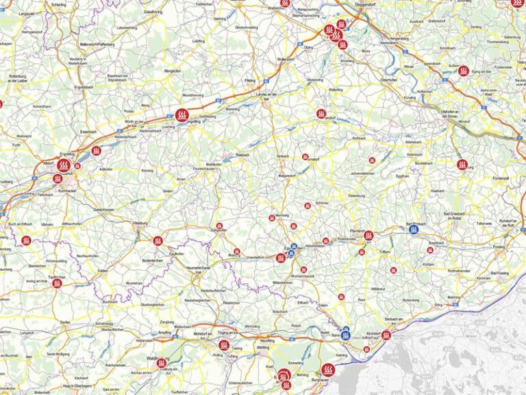 Studie – Wärmelandkarte/ Energie-Atlas Bayern