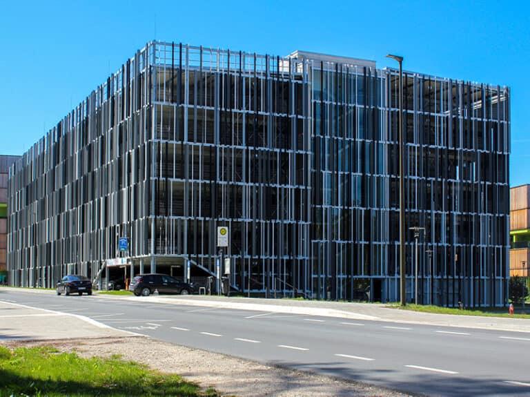 Universität Erlangen Parkhaus Chemikum
