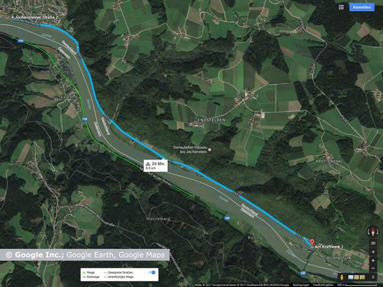 Donauradweg Obernzell – Jochenstein