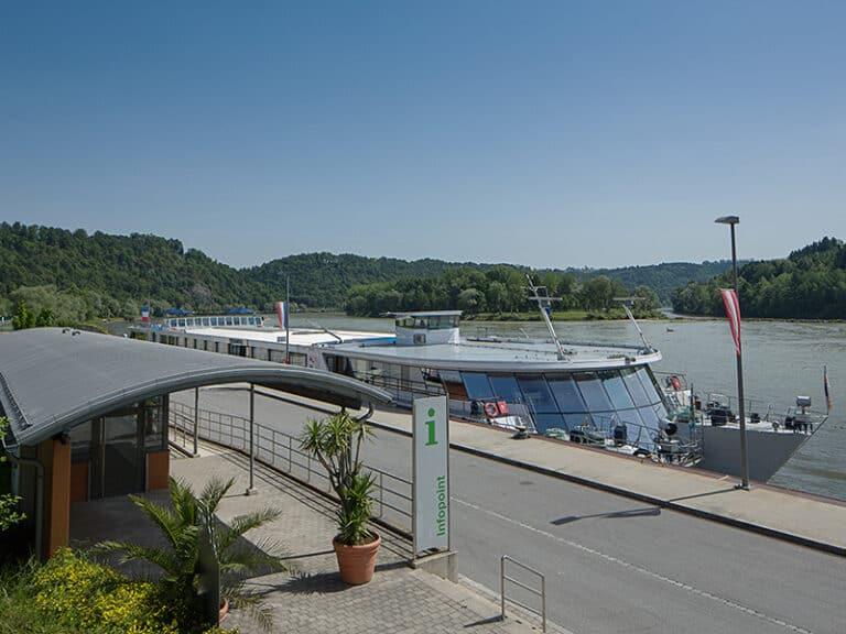 Schiffsanlegestelle Passau-Lindau