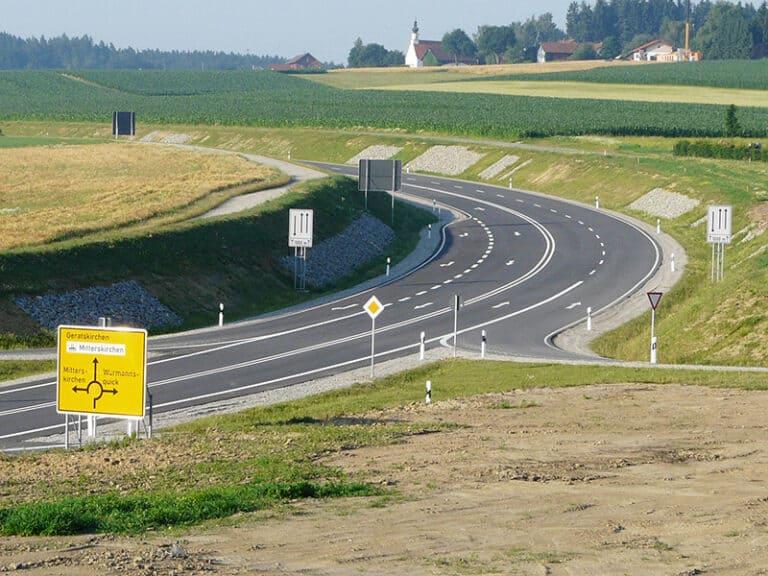 Umgehungsstraße B588 Mitterskirchen