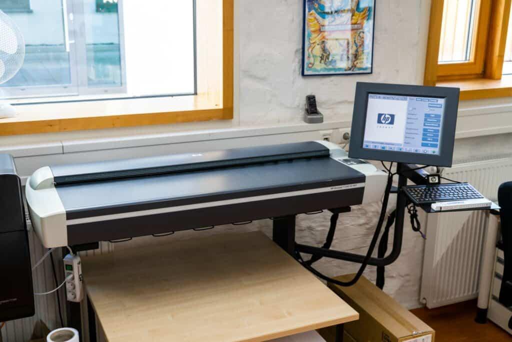 Kopier- und Druckzentrum Scanner