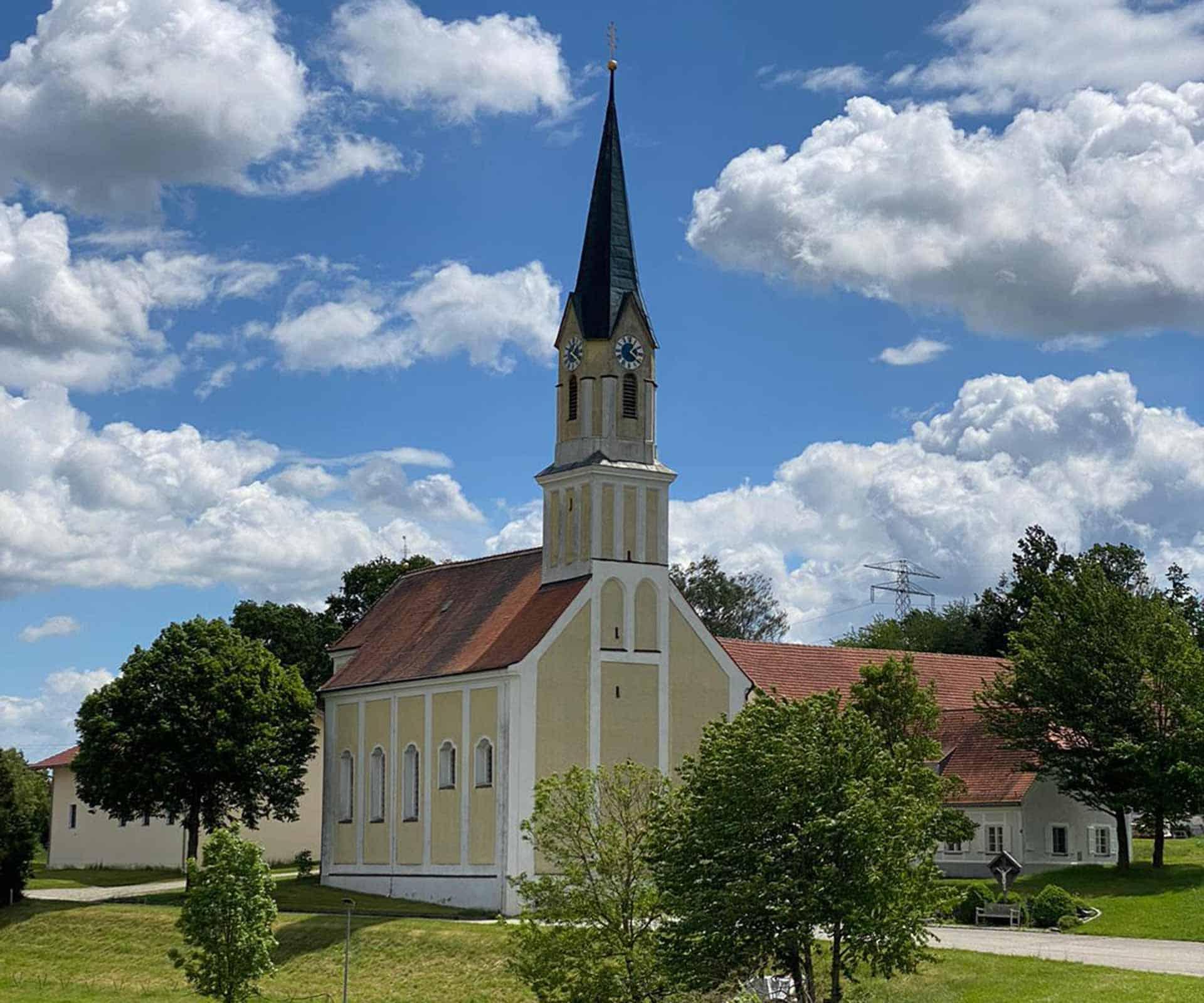Read more about the article Vermessung der Wallfahrtskirche Mariä Heimsuchung in Anzenberg