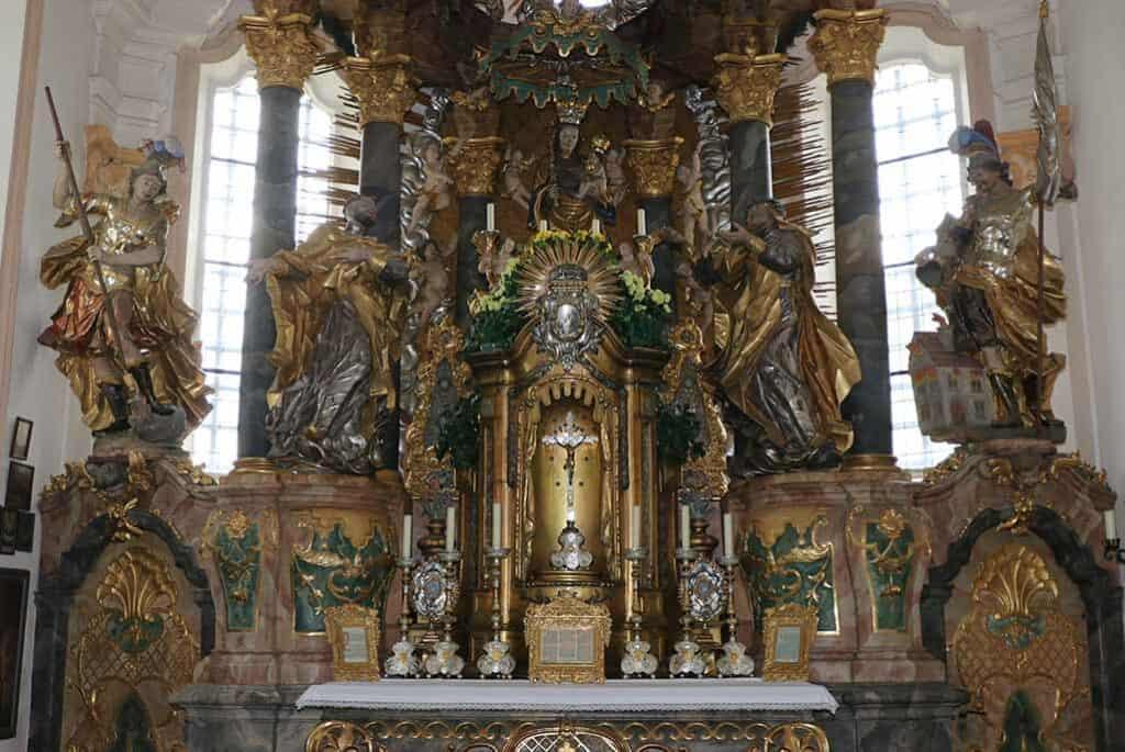 Kirche Anzenberg Hochaltar Realbild