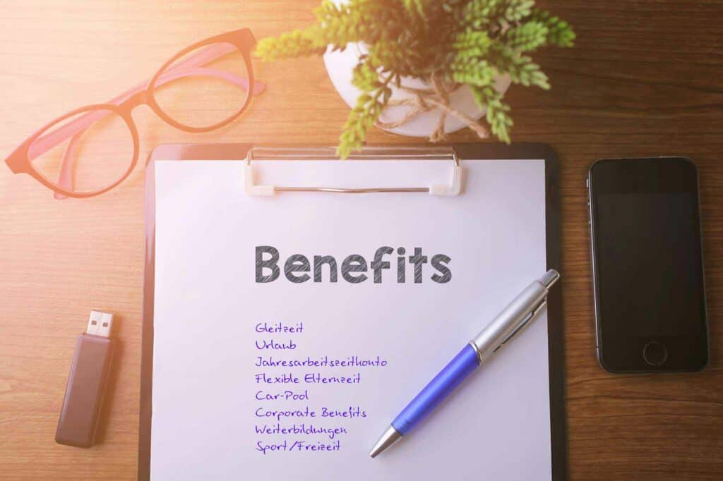 Jobs Benefits Corporate Benefits