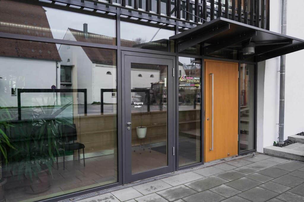 Kopier-und Druckzentrum Eingang
