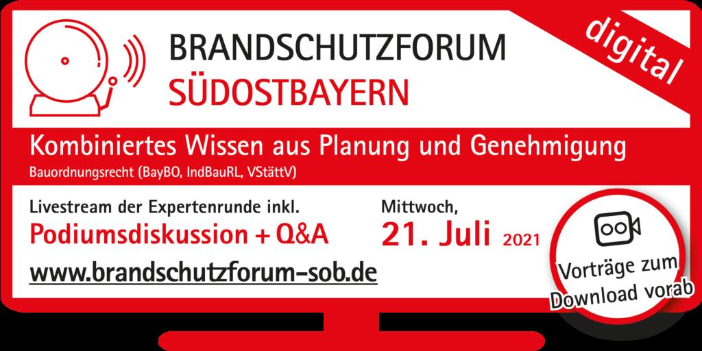 Anzeige Brandschutzforum Südostbayern