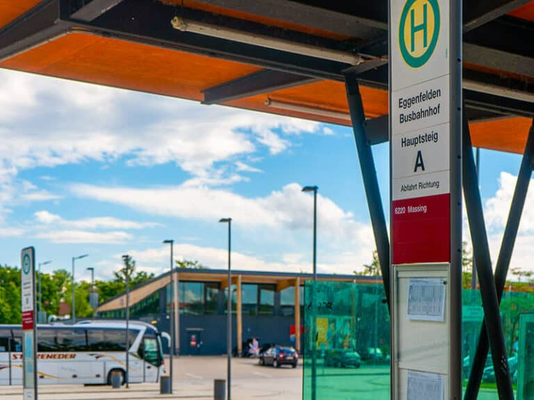 Zentraler Omnibusbahnhof (ZOB) Eggenfelden